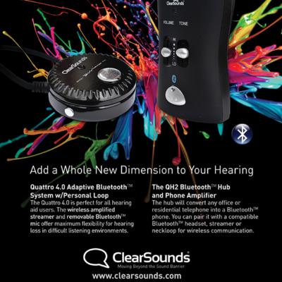 audio equipment advertising