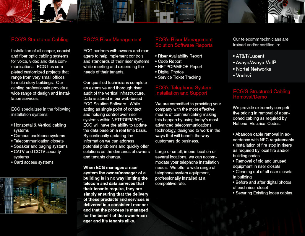 Emerging Communications Brochure Inside