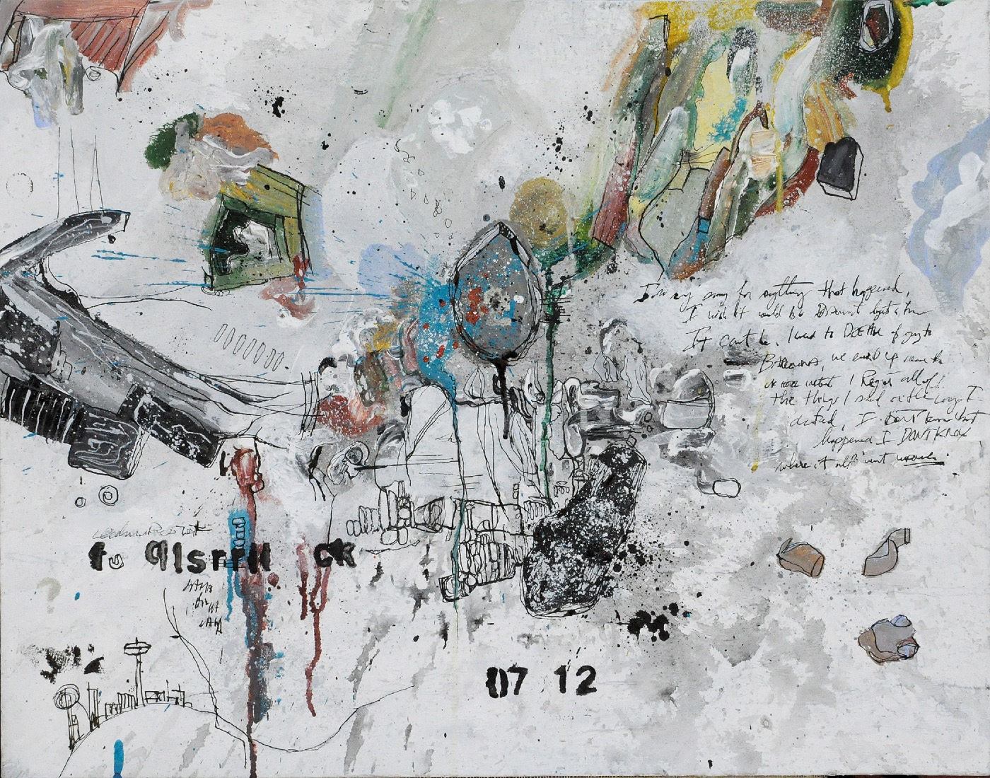 Ricochet Cherub Painting